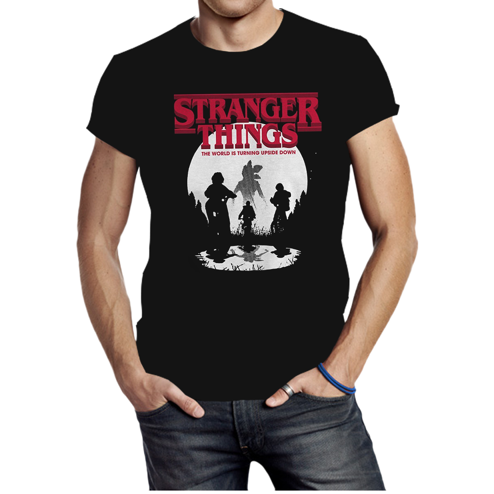 Top stranger things the world is turning upside down shirt