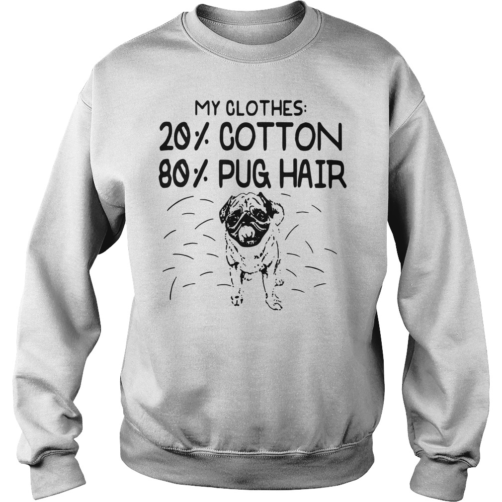 My Clothes 20 Cotton 80 Pug Hair Sweater