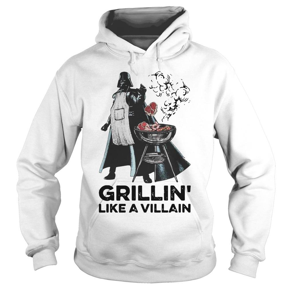 Darth vader grillin like a villain Hoodie