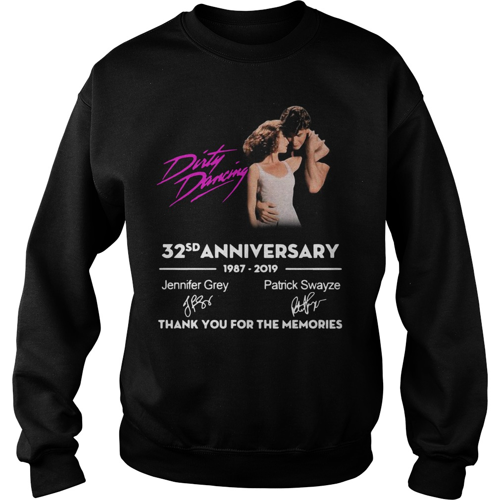 Dirty Dancing 32nd anniversary 1987-2019 signatures Sweater