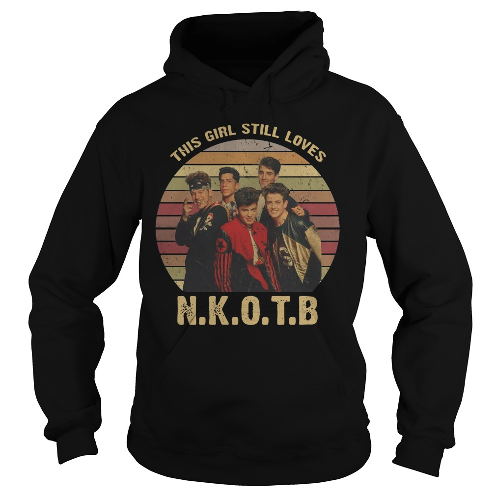 This Girl Still Loves New Kids On The Block vintage Hoodie