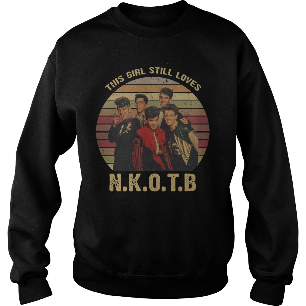This Girl Still Loves New Kids On The Block vintage Sweater