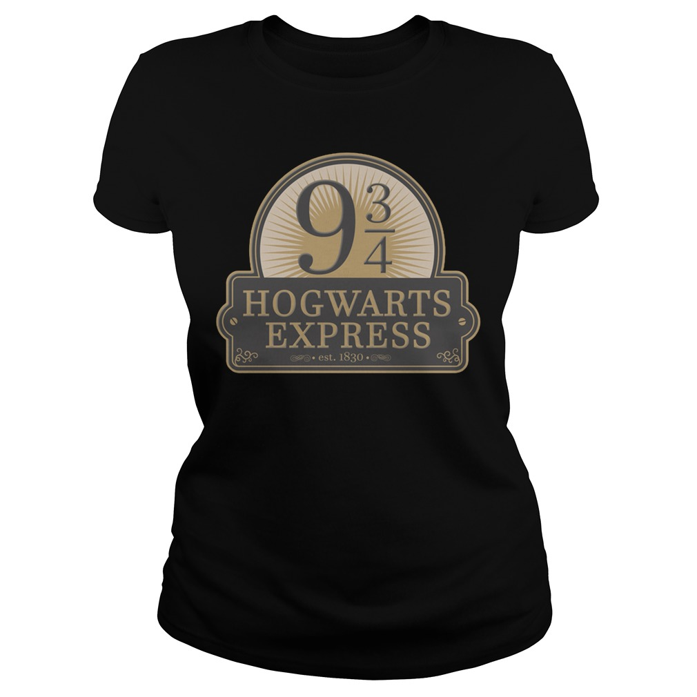 Hogwarts express est 1830 Ladies t-shirt
