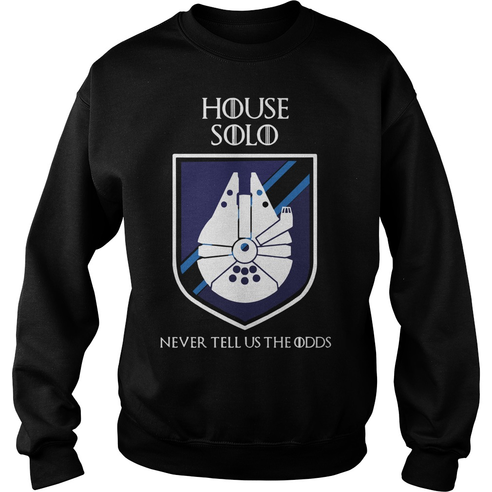 House solo never tell us odds Game of Thrones Sweater