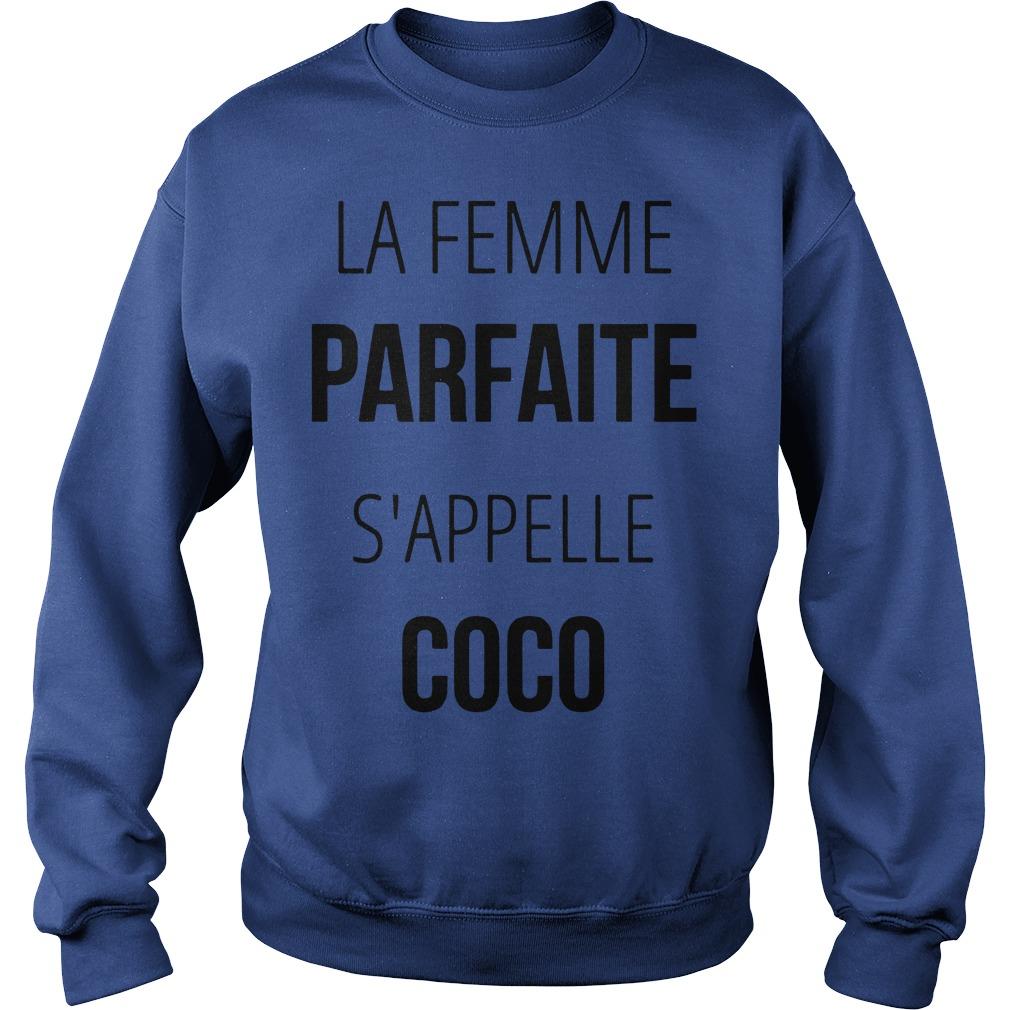 La femme parfaite s'appelle coco Sweater