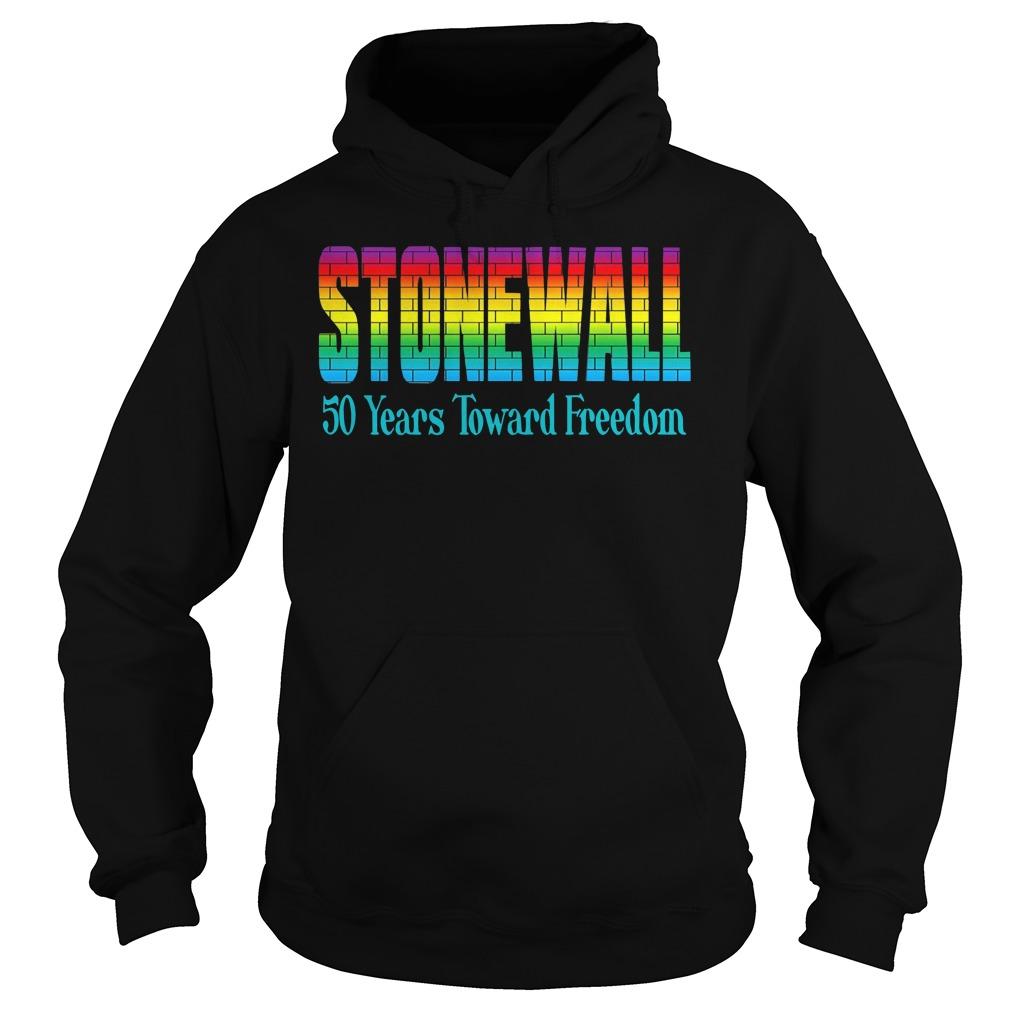 Lgbtq Gay Pride The Stonewall Riots 50th Anniversary Brick Hoodie