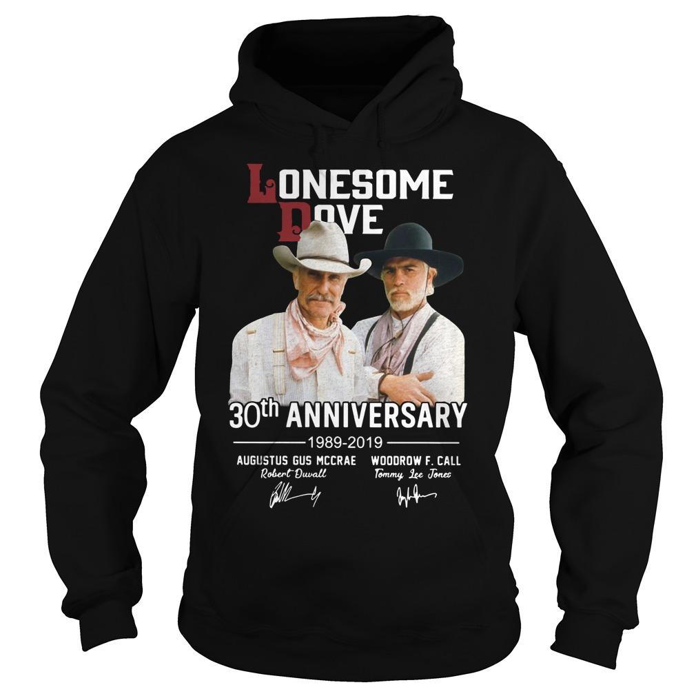 Lonesome dove 30th anniversary 1989 2019 signature Hoodie