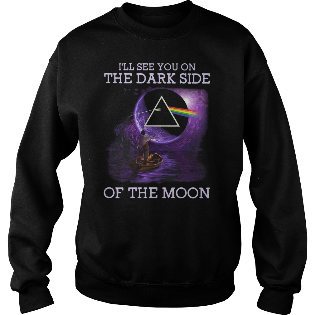 Pink Floyd I'll see you on the dark side of the moon Sweater