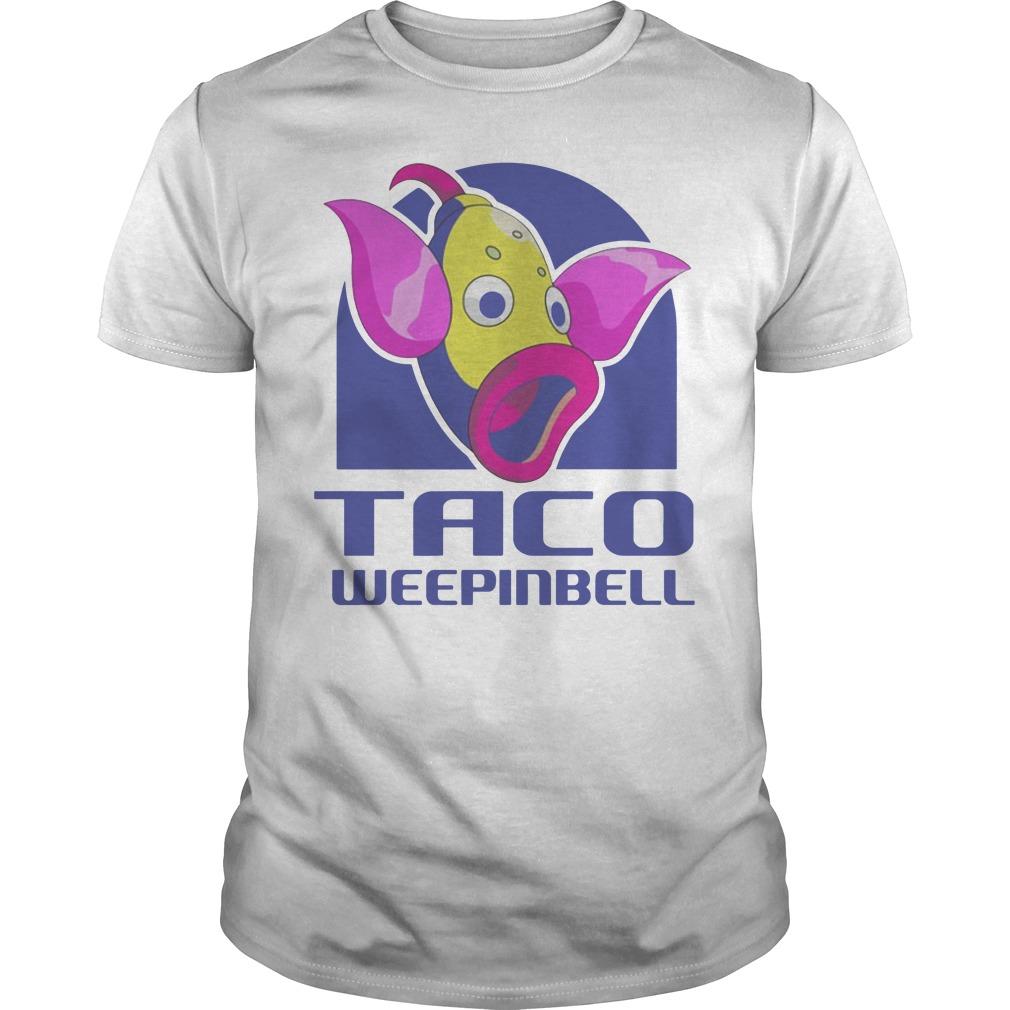 Taco Weepinbell Pokemon Onesie Guys t-shirt