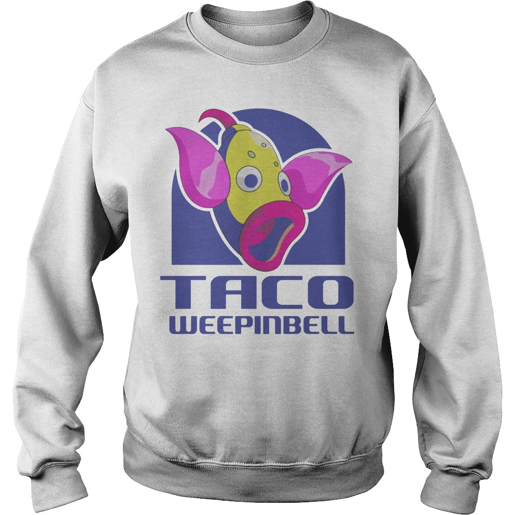 Taco Weepinbell Pokemon Onesie Sweater