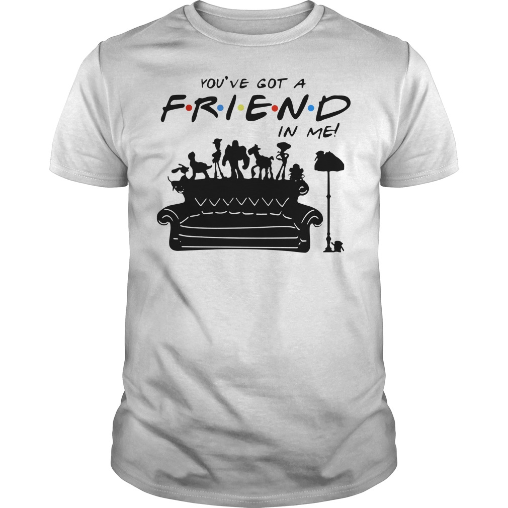 Toy story group of friends you've got a friends in me Guys t-shirt