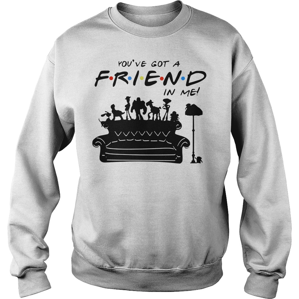 Toy story group of friends you've got a friends in me Sweater