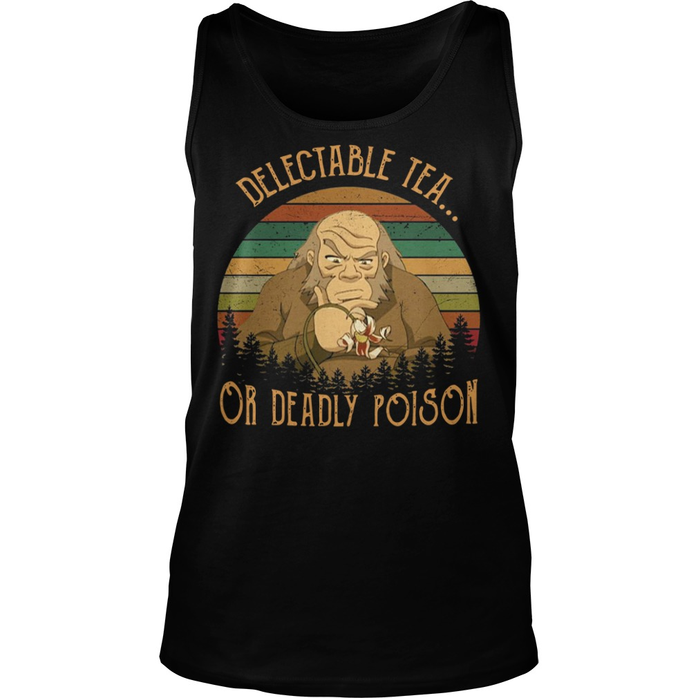 Uncle Iroh delectable tea or deadly poison vintage Tank top