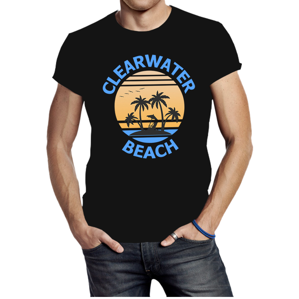 Awesome Clearwater Beach Florida Travel Vacation shirt