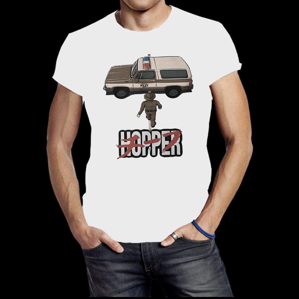 Chief Hopper Jim Hopper Stranger Things Akira shirt