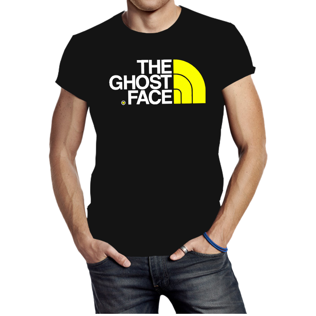 Ghost face north face shirt