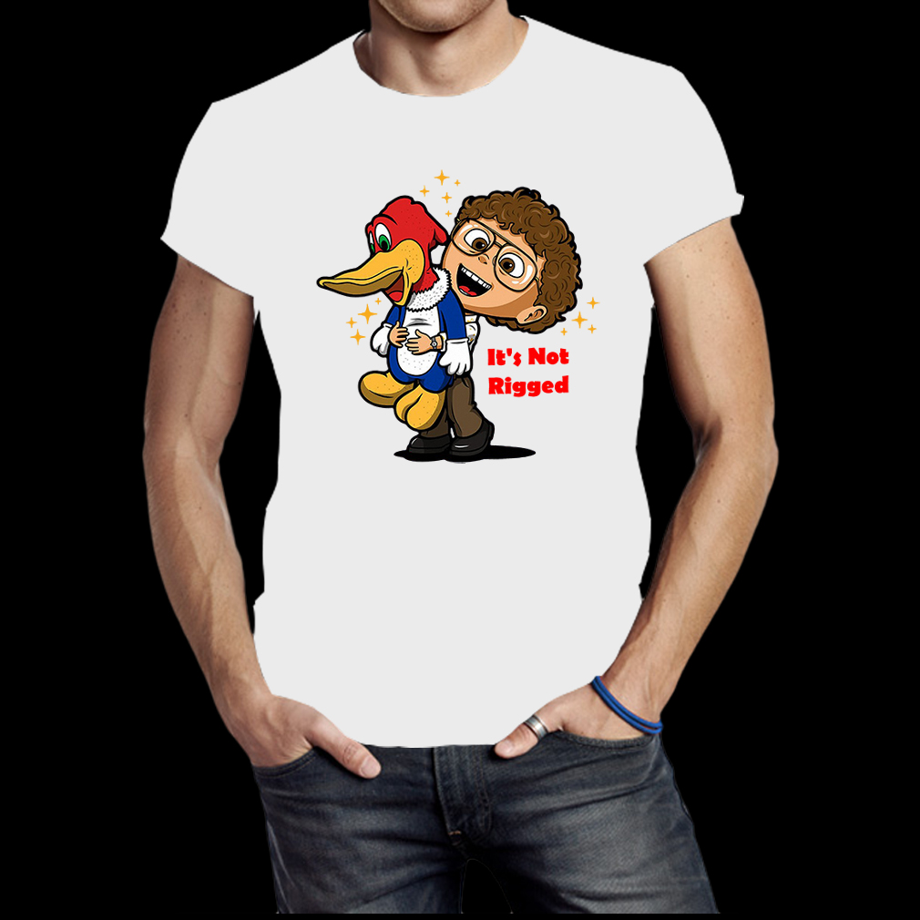 It's Not Rigged Alexei and duck shirt