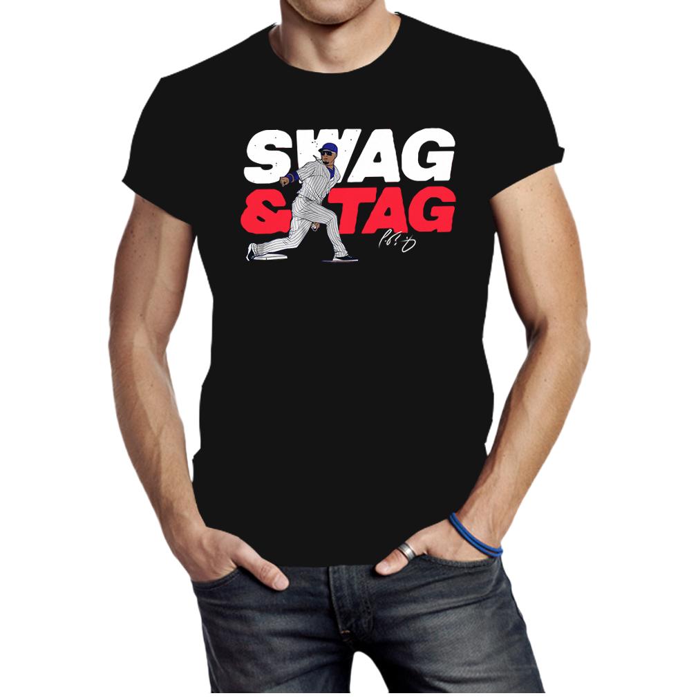 Javier baez swag tag shirt