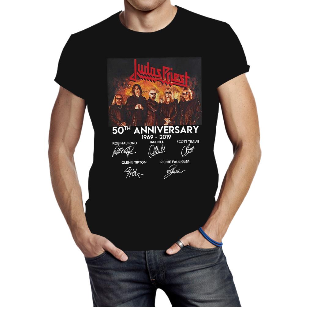 Judas Priest 50th anniversary shirt
