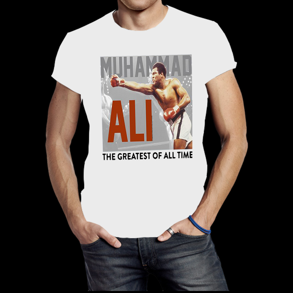 Muhammad Ali Power Boxing Strike Men shirt
