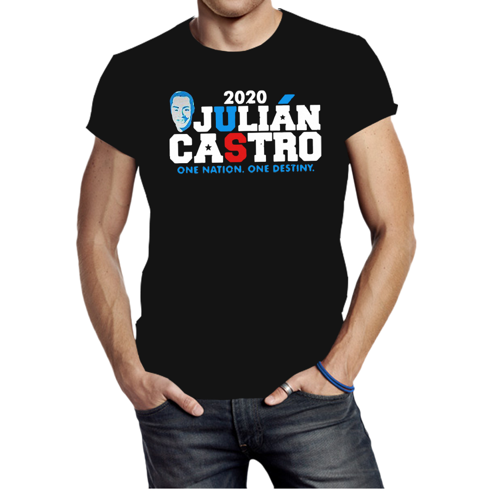 One nation one destiny julian castro 2020 retro distressed shirt