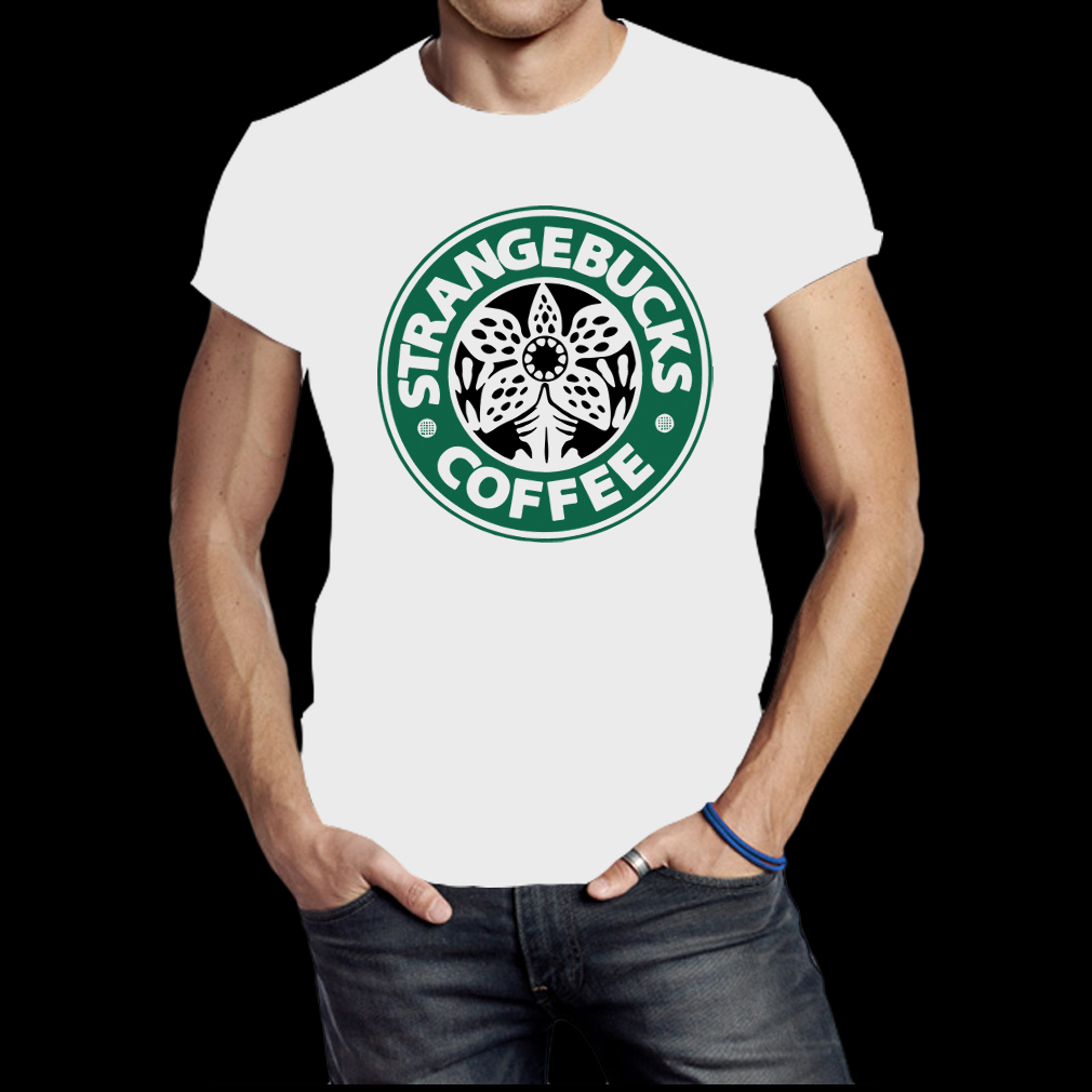 Strangebucks coffee shirt