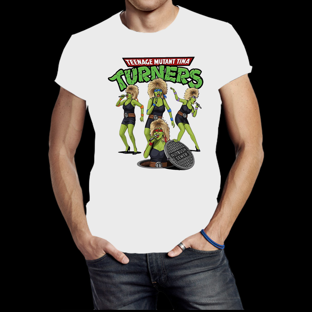 Teenage Mutant Ninja Turners Tina Turner shirt