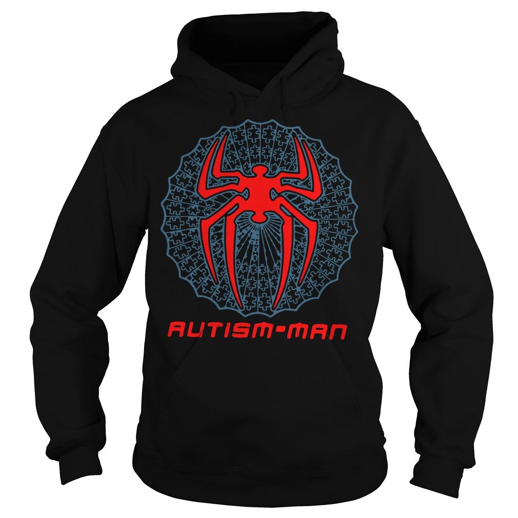 Autism Man Spider Man Hoodie