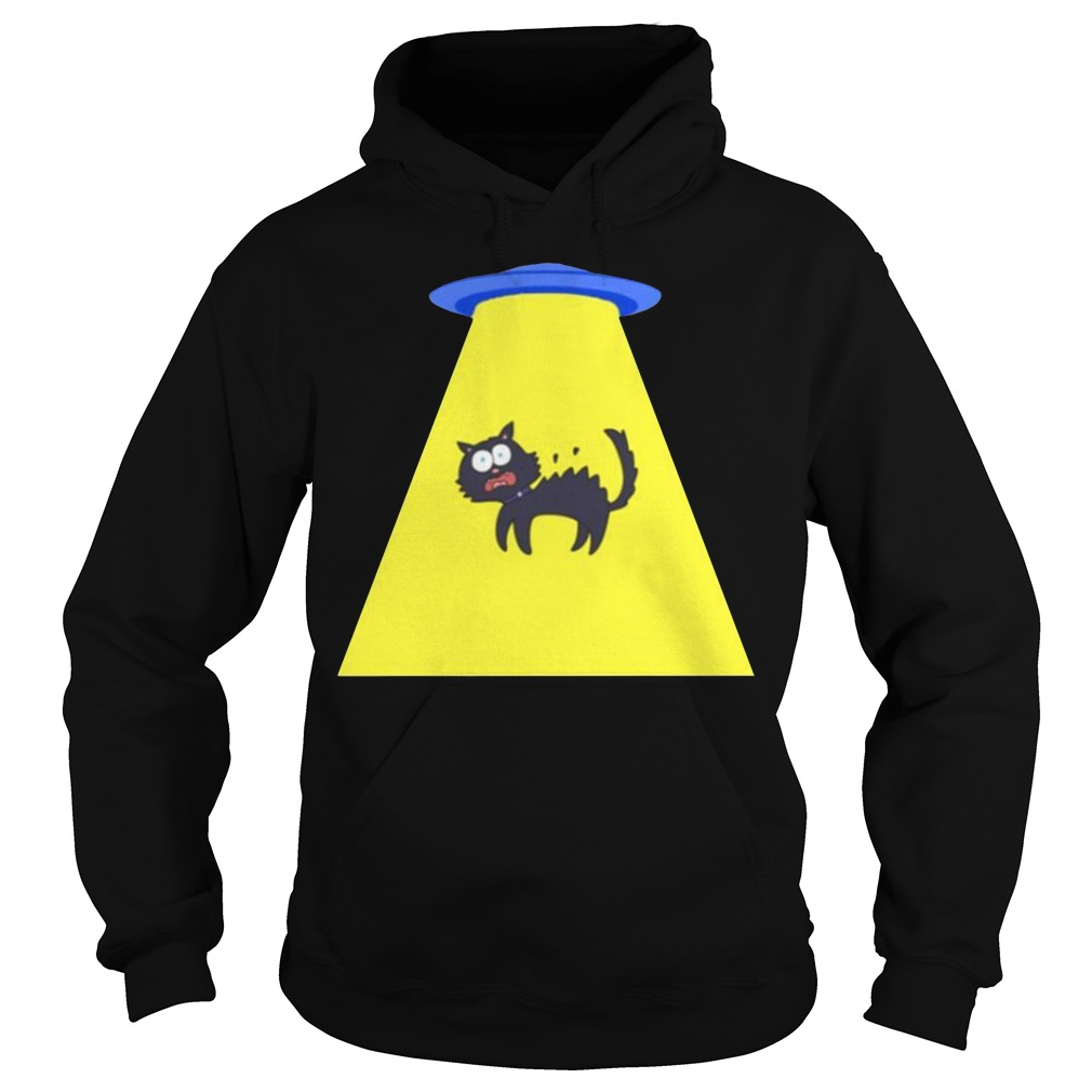 Cat Storm Area 51 they can't stop us all Hoodie