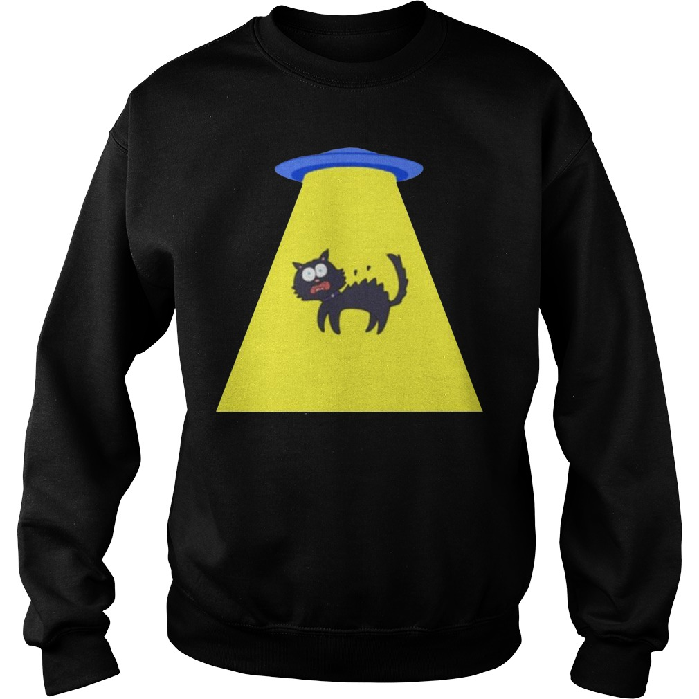 Cat Storm Area 51 they can't stop us all Sweater