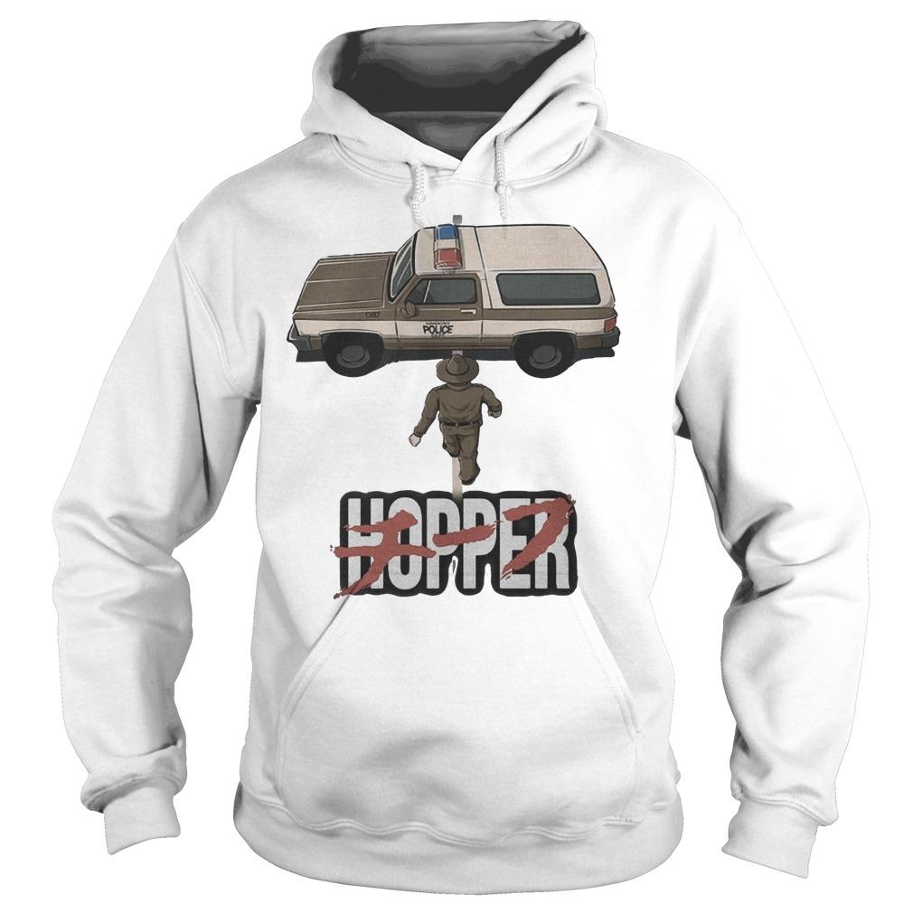 Chief Hopper Jim Hopper Stranger Things Akira Hoodie