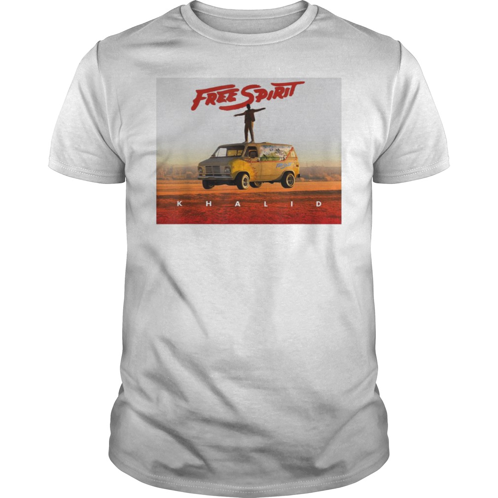 Country American teen fan lovely Khalid Free Spirit Guys t-shirt