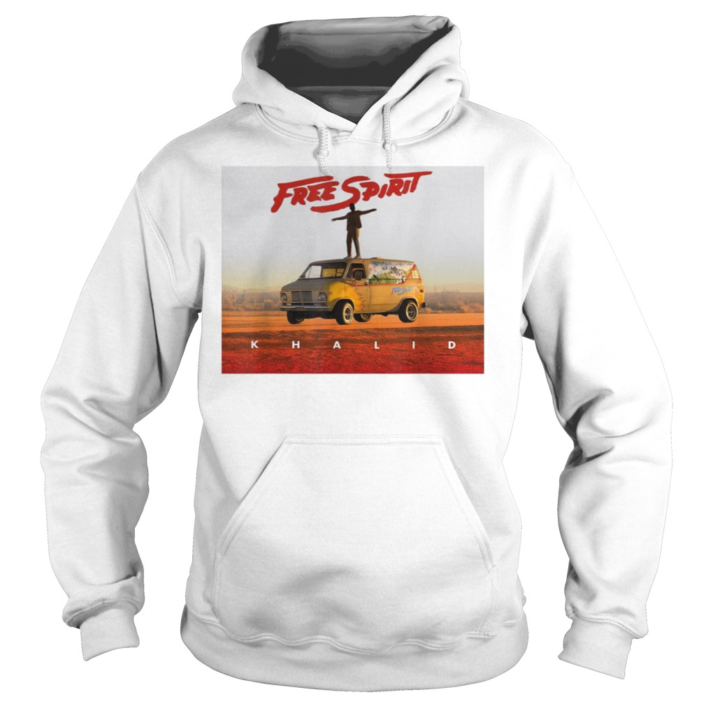 Country American teen fan lovely Khalid Free Spirit Hoodie
