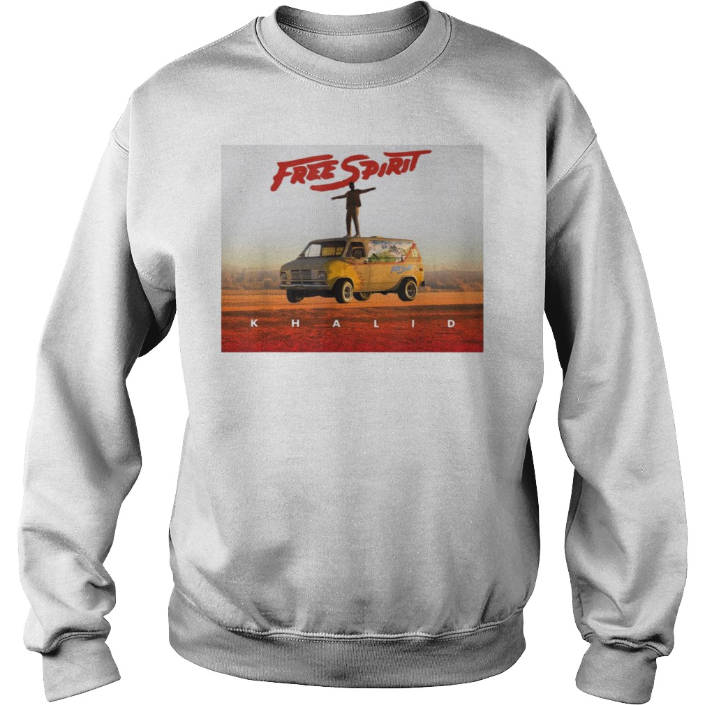 Country American teen fan lovely Khalid Free Spirit Sweater