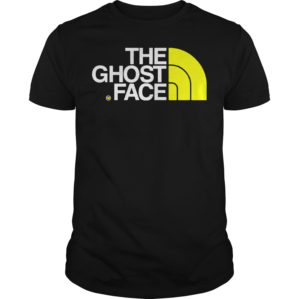 Ghost face north face Guys t-shirt