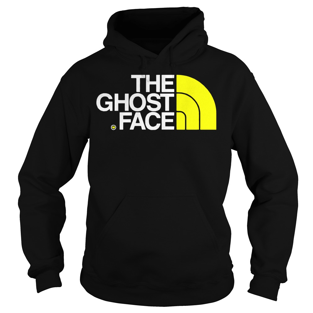 Ghost face north face Hoodie
