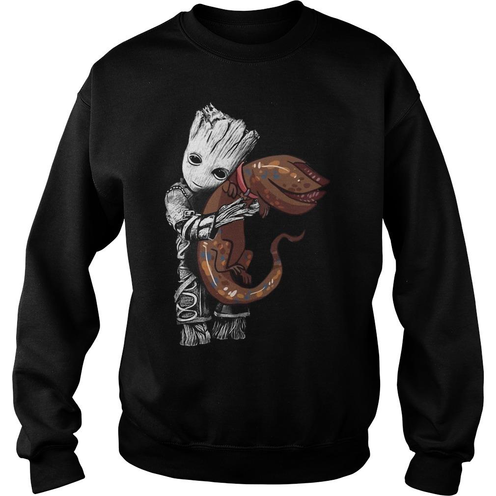 Groot Hug Goose Cat sweater