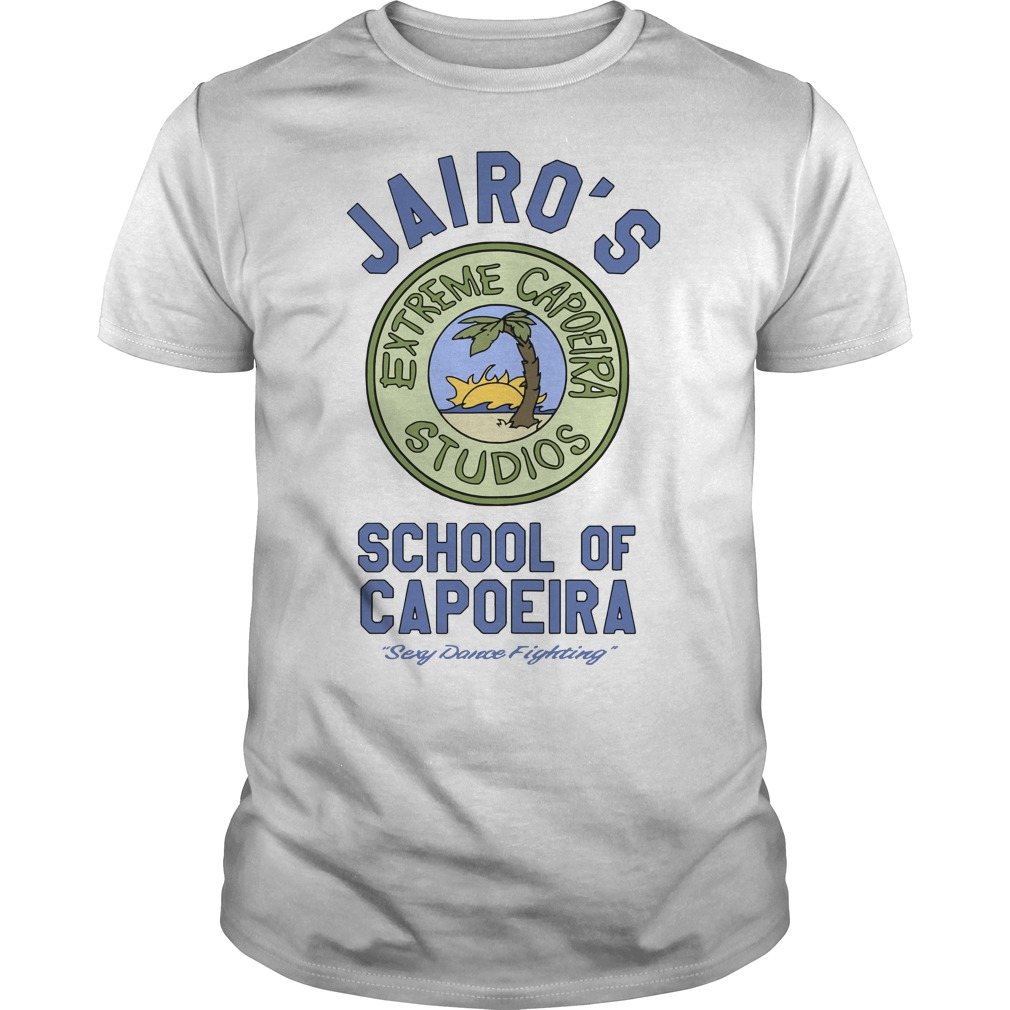 Jairo's School Of Capoeira Sexy Dance Fighting Guys t-shirt