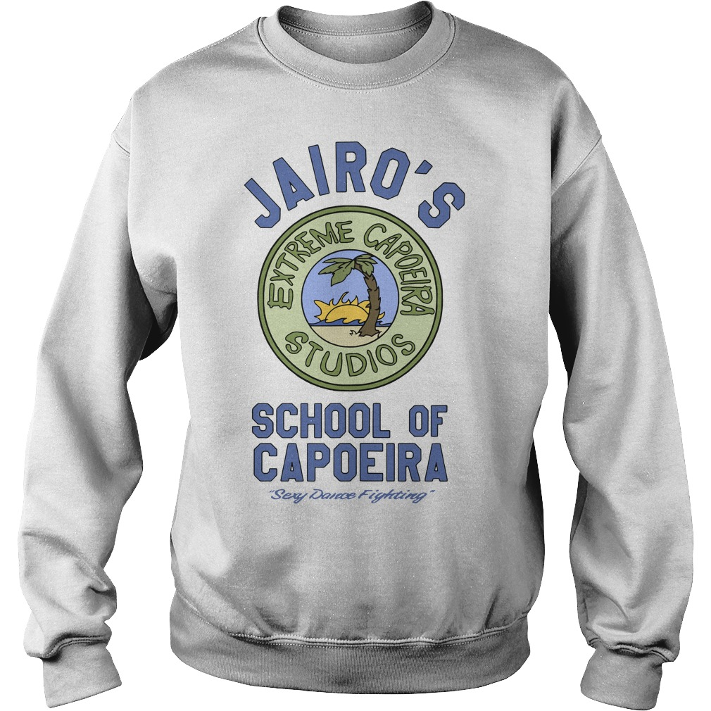Jairo's School Of Capoeira Sexy Dance Fighting Sweater