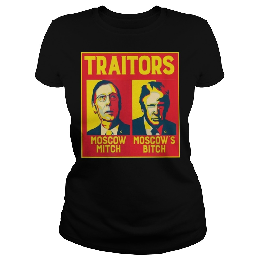 Moscow Mitch Traitors Ladies t-shirt