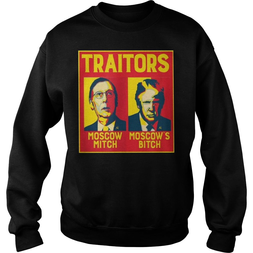 Moscow Mitch Traitors Sweater