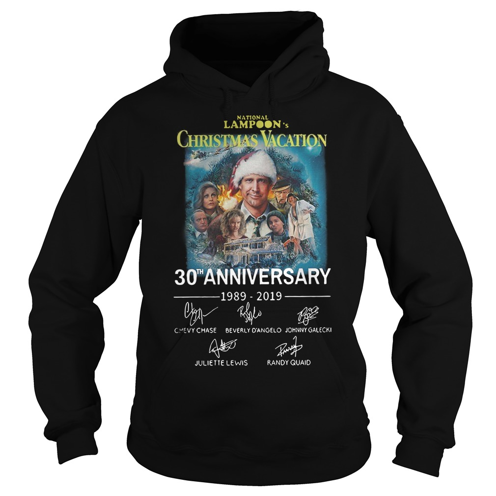 National Lampoon's Christmas Vacation 30th anniversary Hoodie