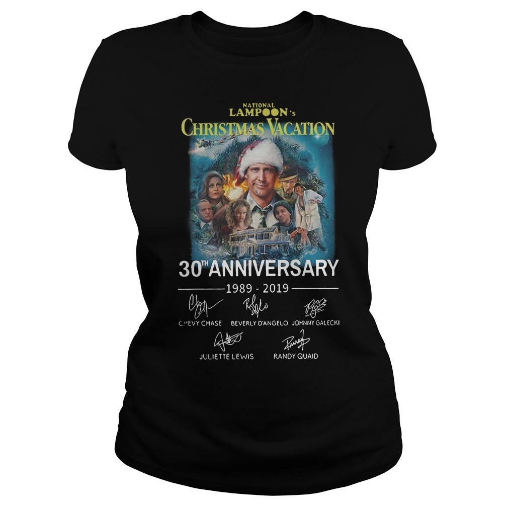 National Lampoon's Christmas Vacation 30th anniversary Ladies t-shirt