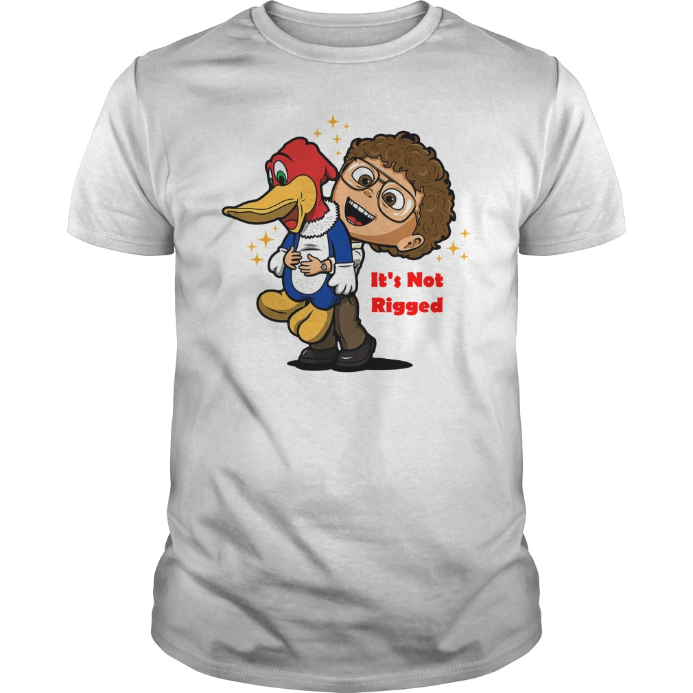 It's Not Rigged Alexei and duck Guys t-shirt