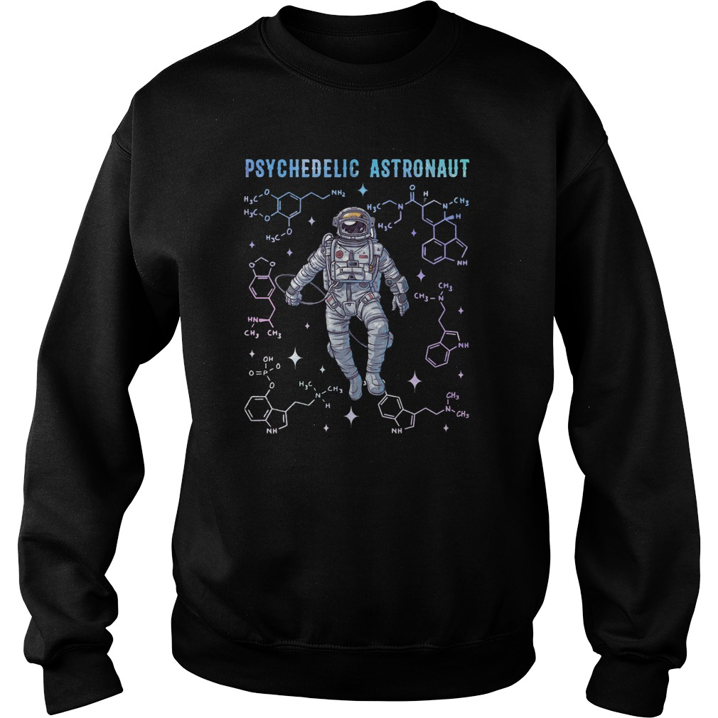 Psychedelic Space Astronaut Psychonaut Sweater