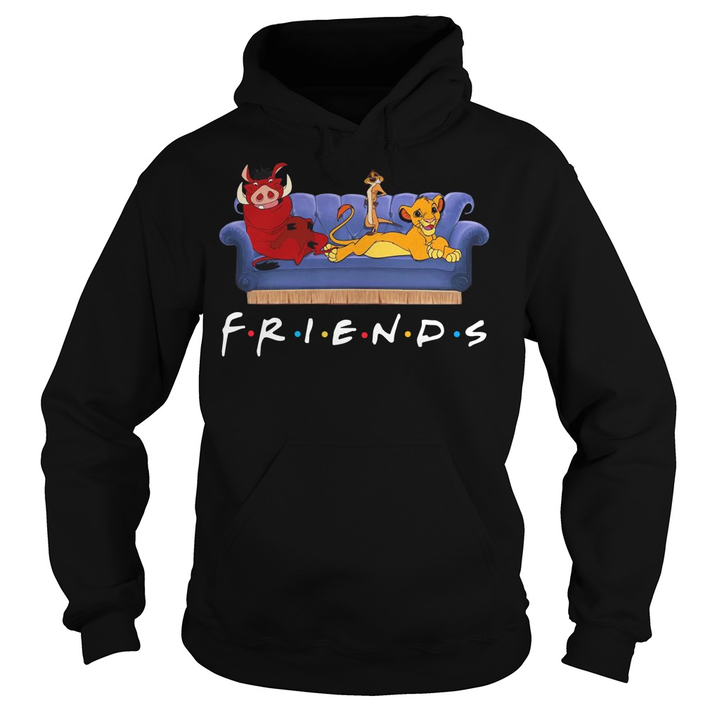 Simba Pumbaa And Timon Friends Hoodie