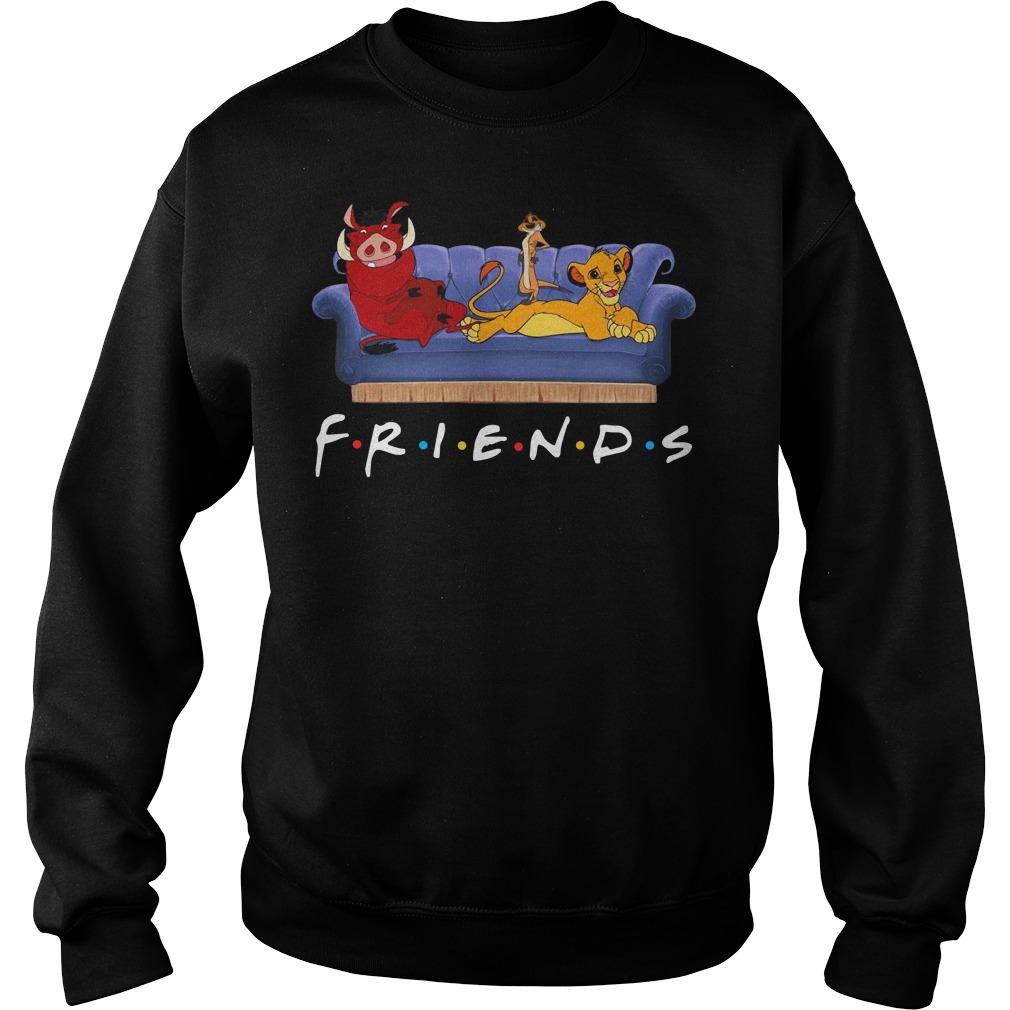 Simba Pumbaa And Timon Friends Sweater