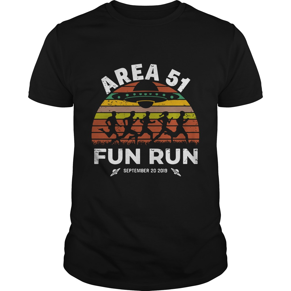 Storm Area 51 Fun Run September 20 2019 Vintage Guys t-shirt