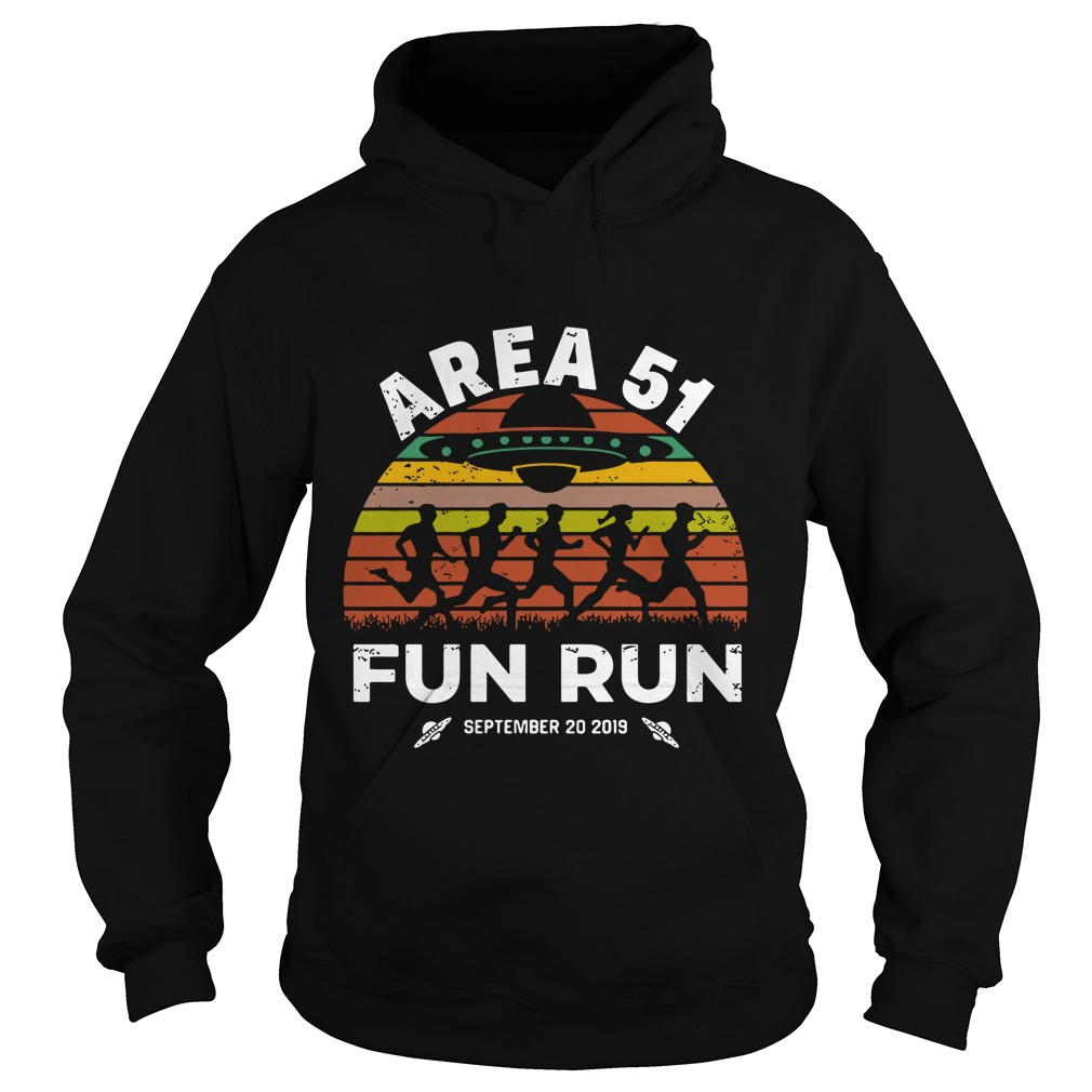 Storm Area 51 Fun Run September 20 2019 Vintage Hoodie