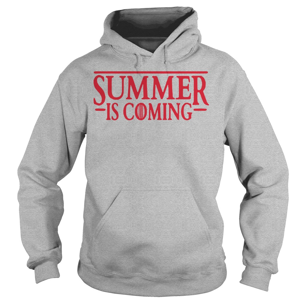 Stranger thing summer is coming GOT Hoodie
